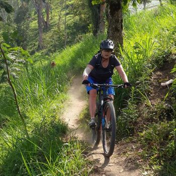 Bali Downhill cycling
