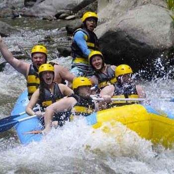Bali Rafting and Volcano Tour