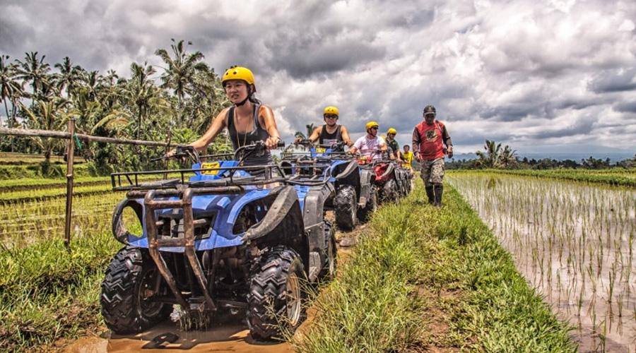 Mount Batur trekking and ATV ride